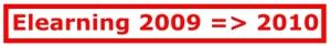 Elearning 2009-2010
