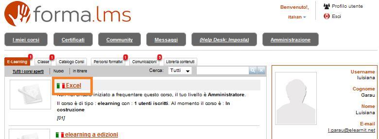 Forma Lms: Come inserire i materiali didattici in un corso (2/6)