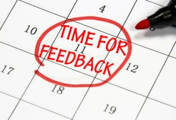 time to feedback date